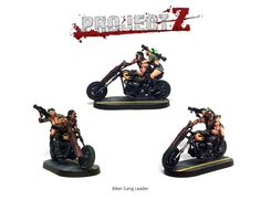 The 'Biker Gang Leader' model is a particular favourite around the offices at Warlord Games HQ!