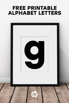 Decorate your home with over 40 pieces of free printable art from HP. Alphabet letters available available for download in magenta, black & green. Tap this Pin to find a range of free printables, plus more ideas for every room in your home, classroom, office and more. Just print out on your HP printer & frame!
