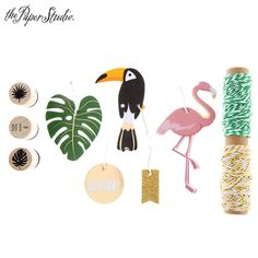 Flamingo Tag Kit