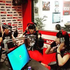 #babymetal at #teamrock radio in London