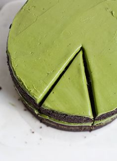 Triple-Layer Chocolate Matcha Cake | www.acozykitchen.com