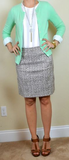 Outfit Posts: (outfits 1-5) one suitcase: spring business casual capsule wardrobe