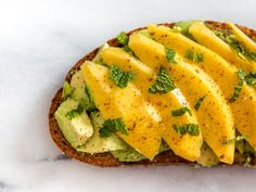 Avocado Toast With M