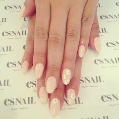Pale pink with sequin & bead flowers