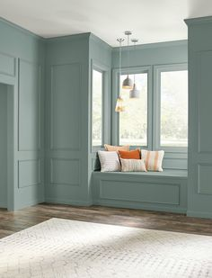 2018 Colors of the Year Best Interior Paint, Interior Paint Colors, Interior Design, Sofa Design, Interior Painting, Blue Green Paints, Green Paint Colors, Color Blue, Most Popular Paint Colors