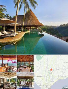 Cet hôtel de charme et de vacances est situé à 5 min en voiture d'Ubud, dans la vallée de Petanu, à proximité du village de Nagi. Il offre une vue spectaculaire sur la vallée et le fleuve, ainsi que sur les rizières en terrasse. Le marché d'Ubud et la forêt des singes (Monkey Forest) sont à 5 min. L'hôtel jouit d'une situation idéale. Il faut compter environ 40 min pour se rendre à Denpasar et 50 min pour accéder à l'aéroport international de Bali.