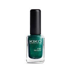 Vernis à ongles KIKO make-up Milano 535 Metallic British Green