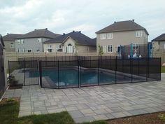 Croyez-vous que les piscines de vos parents, de vos amis, de vos voisins sont sécuritaires ? Respectent-elles les lois municipales en vigueur? 🤔 𝗣𝗮𝗿 𝘀𝗼𝘂𝗰𝗶 𝗽𝗼𝘂𝗿 𝘁𝗼𝘂𝘀, 𝗶𝗹 𝗲𝘀𝘁 𝗶𝗺𝗽𝗼𝗿𝘁𝗮𝗻𝘁 𝗾𝘂𝗲 𝘃𝗼𝘂𝘀 𝗻𝗼𝘂𝘀 𝗮𝗶𝗱𝗶𝗲𝘇 𝗮̀ 𝘀𝗲𝗻𝘀𝗶𝗯𝗶𝗹𝗶𝘀𝗲𝗿 𝘃𝗼𝘁𝗿𝗲 𝗲𝗻𝘁𝗼𝘂𝗿𝗮𝗴𝗲 𝗮̀ 𝗰𝗹𝗼̂𝘁𝘂𝗿𝗲𝗿 𝗹𝗲𝘂𝗿 𝗽𝗶𝘀𝗰𝗶𝗻𝗲. Rappelez-leur que poser une barrière de sécurité aide à sauver des vies. Aidez-nous à contrer cette situation en contactant le 1-800-635-3 Removable Pool Fence, Important, Entourage, Fencing, Swimming Pools, Mansions, House Styles, Home, Stair Gate