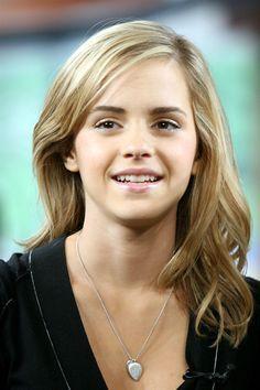 Emma Watson hair and makeup