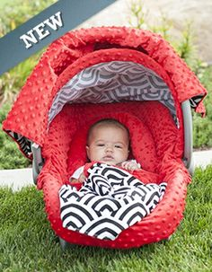 Carseat Canopy ™ - Shopping Cartwhere were these when my babies were little?