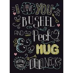 """Bushel And A Peck Counted Cross Stitch Kit-8""""X10"""" 14 Count"""