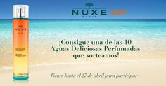 ¡Consigue una de las 10 Aguas Deliciosas Perfumadas NUXE Sun que sorteamos!
