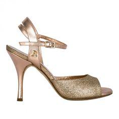 A2 Glitter rame / Laminato rosa Tacco 9