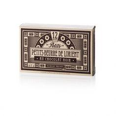 Petits-Beurre de Lorient au Sel de Guérande Nappés de Chocolat Noir - Albert Menes