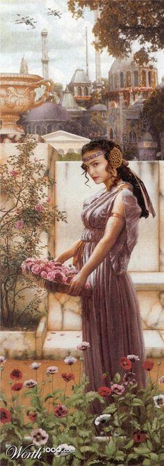 Padmé Amidala in Flowers of Naboo