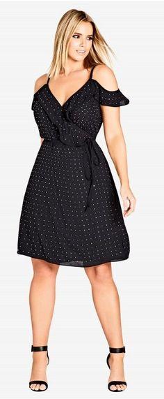 Plus Size Holiday Party Dress - Plus Size Cocktail Dress #plussize