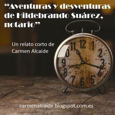 """Carmen Alcaide, inventora de historias: """"Aventuras y desventuras de Hildebrando Suárez, no..."""