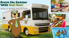 Win a Week's Stay at a Jellystone Park Camp-Resort in the New Winnebago Brave - RV Trader Insider- The Official Blog of RVTrader.com