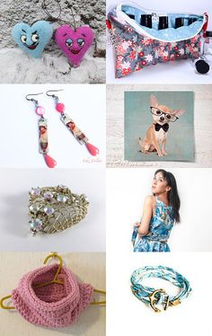 Pink blue by Olga on Etsy--Pinned with TreasuryPin.com