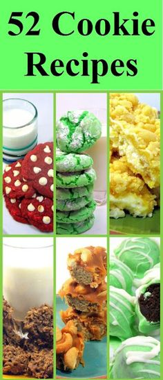 52 Cookie Recipes--just in case I become a baker