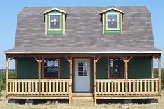 Converted Barn with Side entry and full porch ❤  Lowes Barn Bldg. - Homesteading Questions