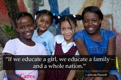 In Haiti, the Adolescent Girls Network improves lives & entire communities by empowering girls with education and skills that nobody can take away.     Photo: Nadia Todres    Join us: www.americares.org