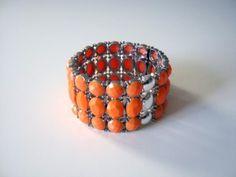 Snö of Sweden armband Joy Fashion Beauty, Beaded Bracelets, Orange, Jewelry, Wristlets, Jewlery, Jewerly, Pearl Bracelets, Schmuck