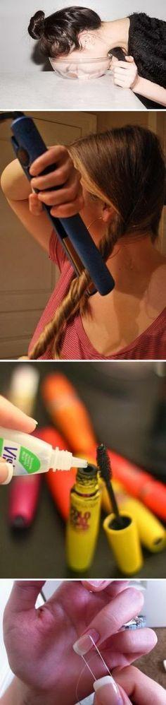 Best Life Saving Beauty Hacks For Girls.