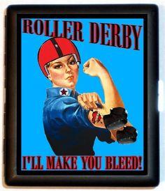 Roller Derby I'll Make you Bleed Cigarette by sweetheartsinner, $9.99