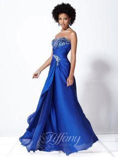 Tiffany 16727 at Prom Dress Shop | Prom Dresses