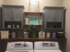 "Fantastic ""laundry room storage diy shelves"" info is offered on our internet site. Take a look and you will not be sorry you did. Small Laundry Rooms, Laundry Room Organization, Laundry Room Design, Laundry In Bathroom, Laundry Area, Basement Laundry, Laundry Drying, Laundry Storage, Bathroom Small"