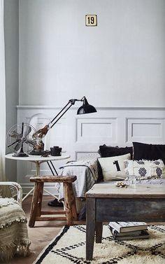 eclectic vintage home decor via milk magazine / @sfgirlbybay
