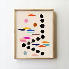 Oceana Abstract Art Print - inaluxe