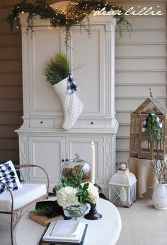 ... white with natural elements always looks good ...