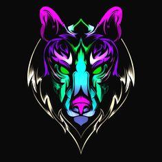 #digital #light #art #3drender Logo Ad, Art Logo, Digital Light, Youtube Logo, Game Logo Design, Esports Logo, Fantasy Wolf, Wolf Pictures, Animal Logo