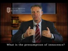 What Is The Presumption Of Innocence?  What Is Presumed