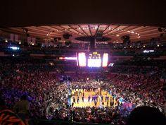 Madison Square Gardens 2009 New York Knicks v Charlotte Bobcats