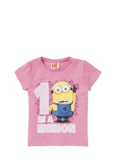 Universal Studios Despicable Me 2 Minion T-Shirt at F&F Clothing