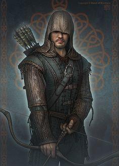 Robin Hood Characters by Kerem Beyit, via Behance