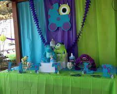 Resultado de imagen para decoracion para fiesta de niño monster inc
