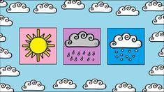 une vidéo simple et interactive pour apprendre la méteo en allemand. WETTER Die Sonne - Die Sonne scheint Der Regen - Es regnet Der Schnee - Es schneit Der W...