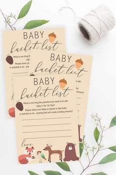 Cute Baby Shower Ideas, Baby Shower Crafts, Baby Shower Activities, Baby Shower Fall, Baby Shower Printables, Baby Shower Decorations, Indoor Activities, Summer Activities, Family Activities