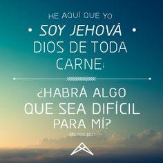 Jeremías 32:27