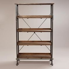 For storage in the loft | World Market Emerson Shelving - v2