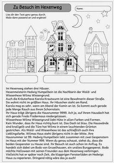 """Ideenreise: Mitdenktext """"Zu Besuch im Hexenweg"""""""