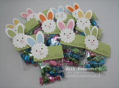 stampin up pinterest | They looked so cute as a little bunch of bunnies!