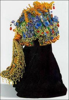 diancui heaswear for chinese traditional royal queen