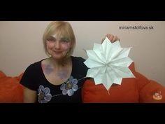 Papierová hviezda geniálne jednoduchá - VIDEO Ako sa to robí.sk