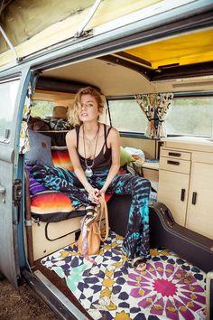 Hippie bus.