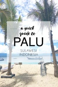 Hey Palu, I bloody love you! (Plus a new video) | Kelana by Kayla